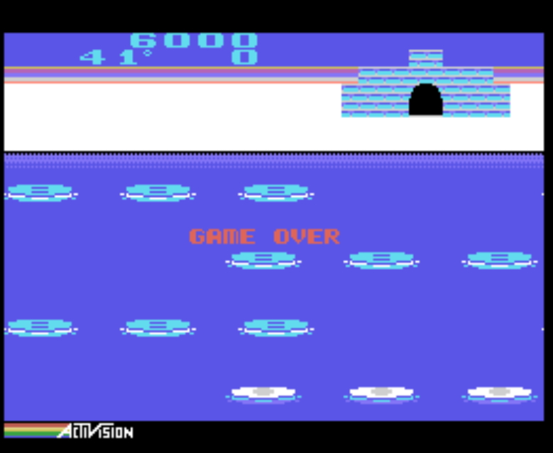 Bamse: Frostbite [Advanced / Coleco] (Colecovision Emulated) 6,000 points on 2019-11-17 16:58:37