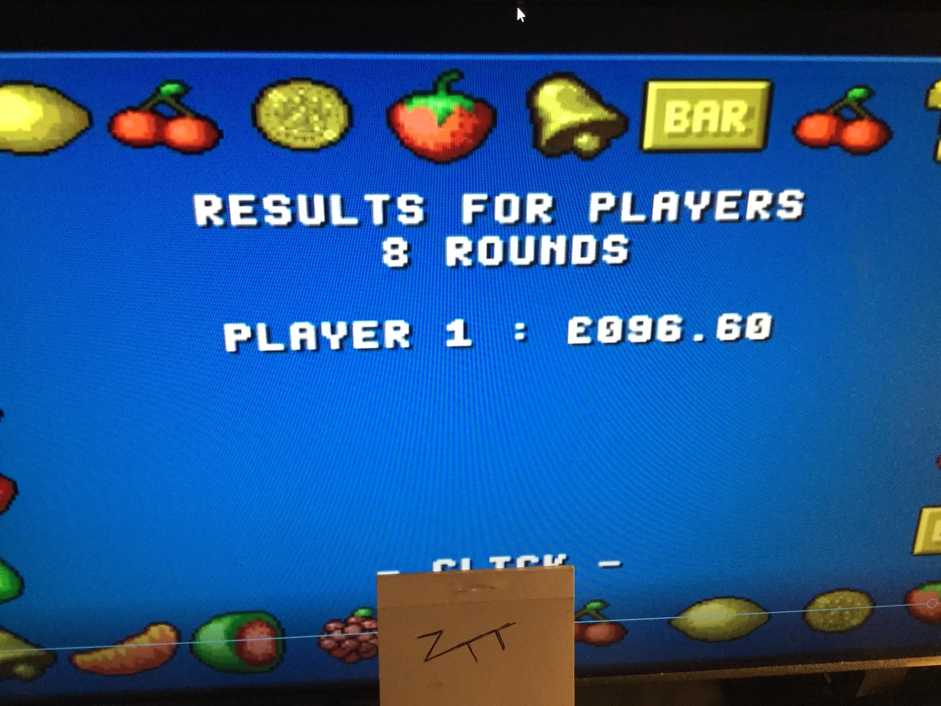 Frankie: Fruit-Mania [8 Rounds] [Money * 100] (Amiga Emulated) 9,660 points on 2017-10-15 14:02:20
