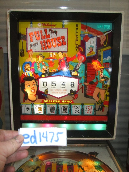 ed1475: Full House (Pinball: 3 Balls) 548 points on 2017-03-26 15:51:38