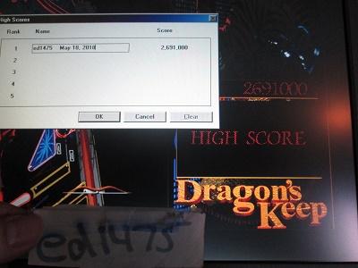 ed1475: Full Tilt! Pinball: Dragon