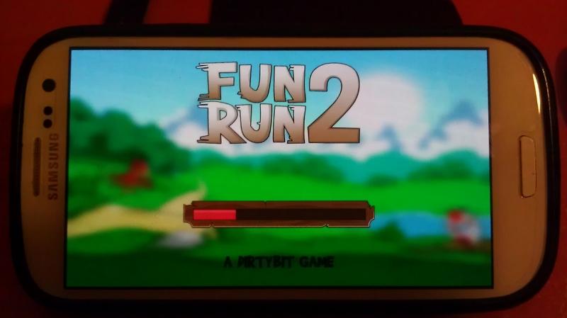 Fun Run 2: Cannon Town time of 0:00:49.45