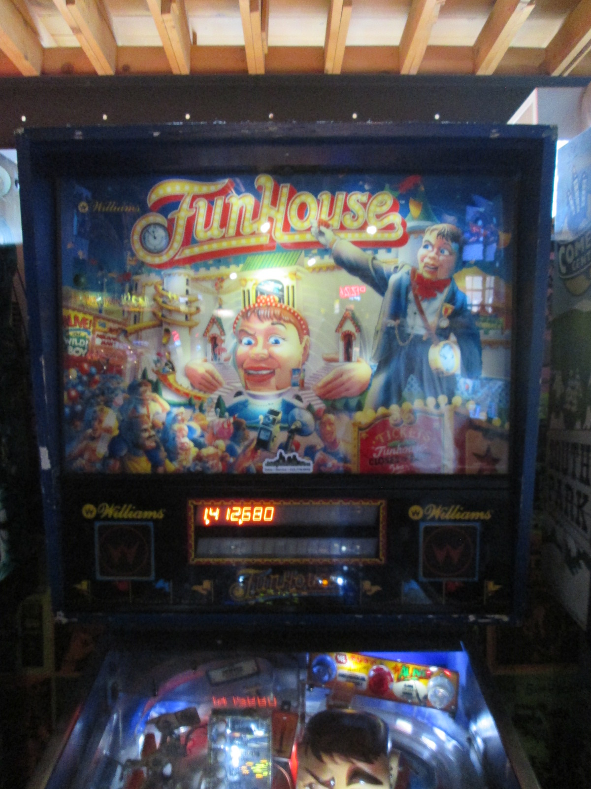 ed1475: FunHouse (Pinball: 3 Balls) 1,412,680 points on 2016-08-28 16:29:00