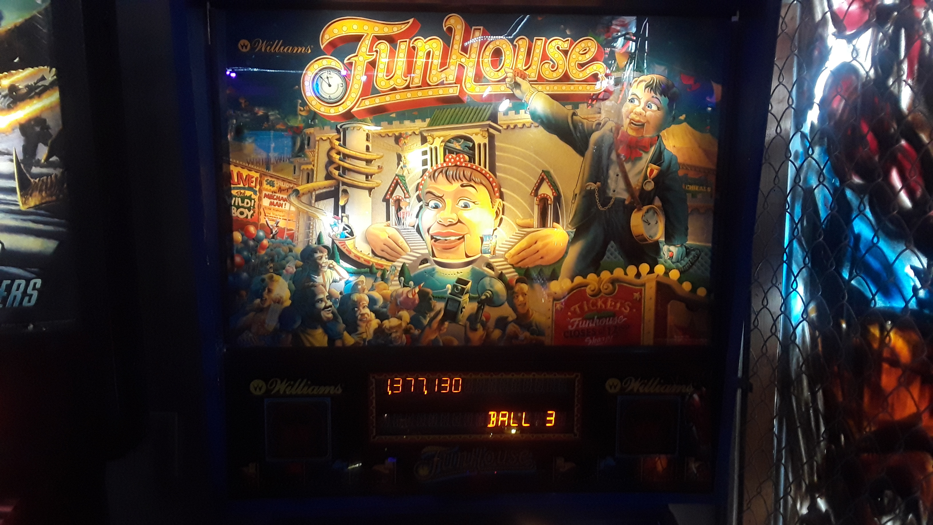FunHouse 1,377,130 points