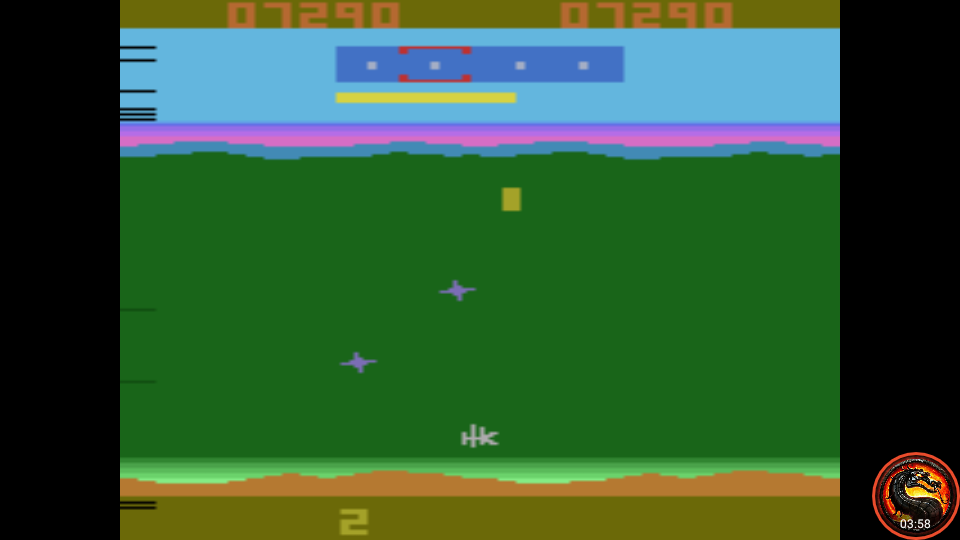 omargeddon: Funky Fish (Atari 2600 Emulated Expert/A Mode) 7,290 points on 2020-09-17 13:26:37