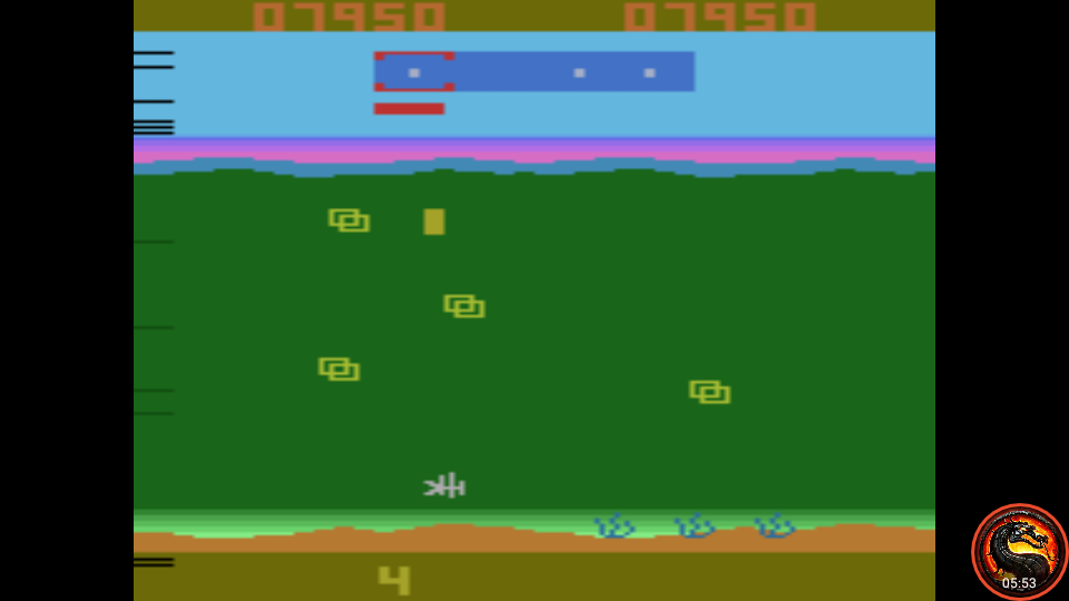 omargeddon: Funky Fish (Atari 2600 Emulated Novice/B Mode) 7,950 points on 2020-09-17 13:19:29