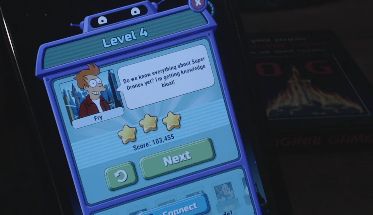 Futurama: Game of Drones: Level 4 103,455 points