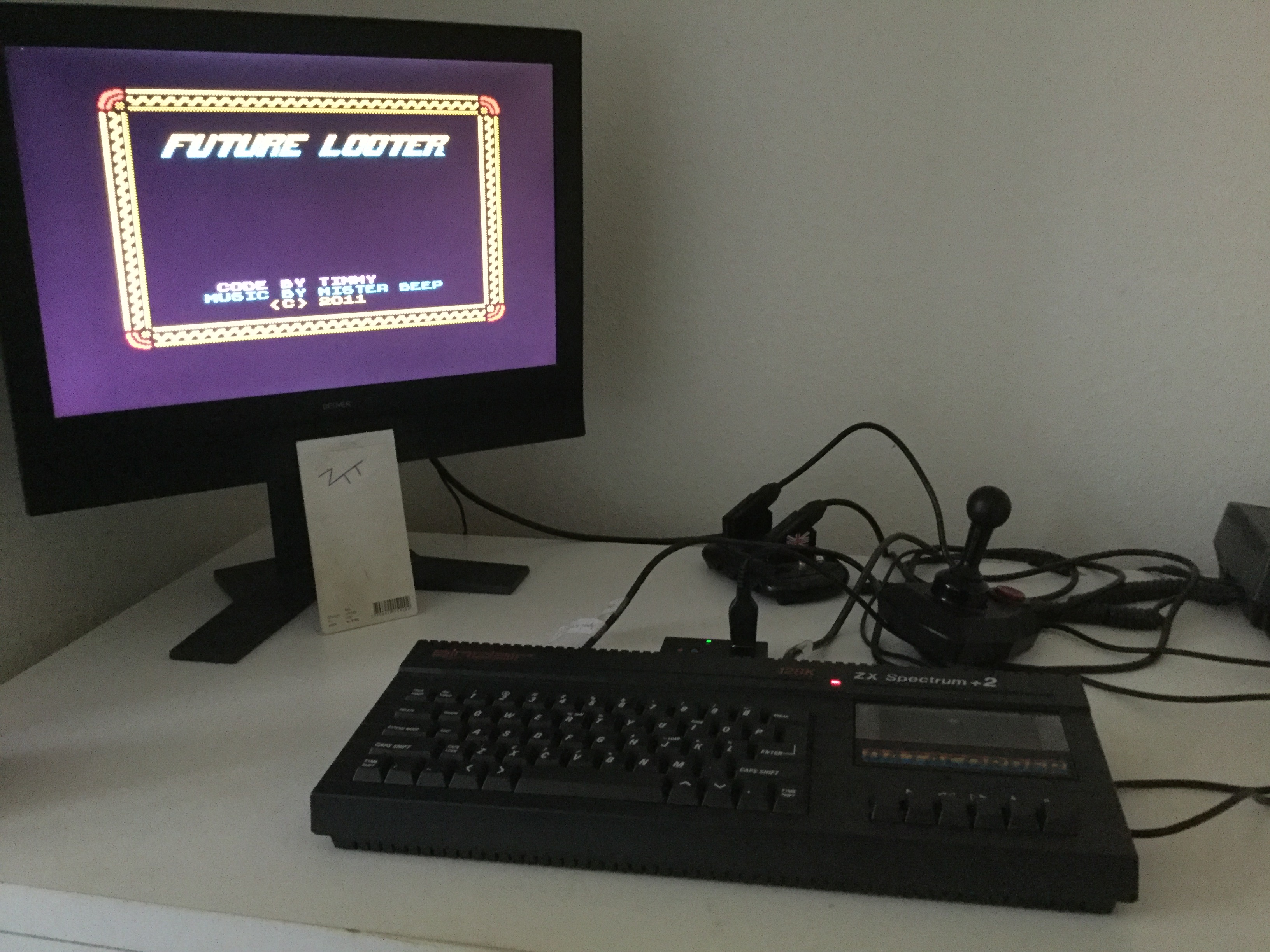 Frankie: Future Looter (ZX Spectrum) 5,175 points on 2019-11-16 03:23:31