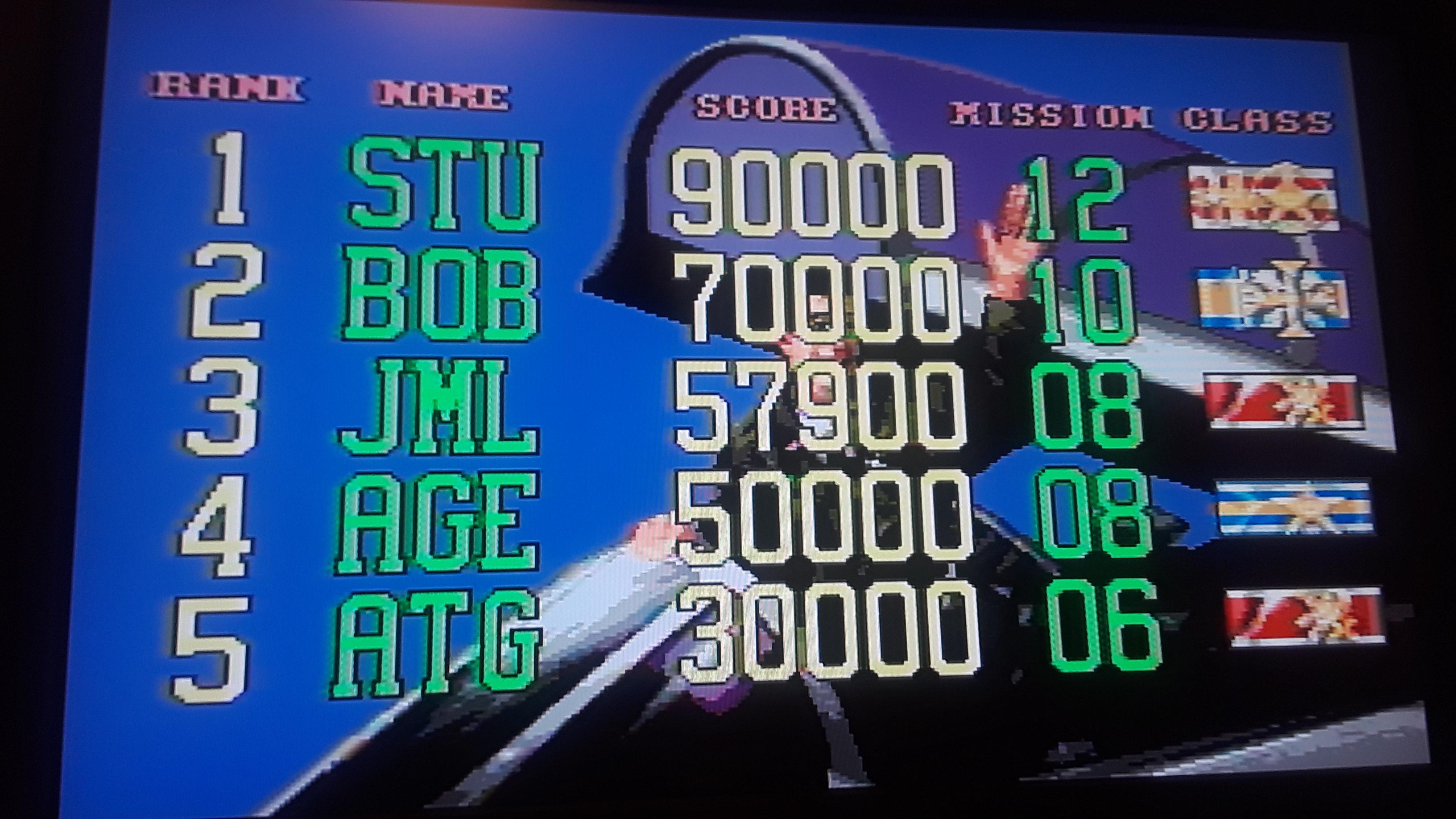 G-LOC: Air Battle [Easy] 57,900 points