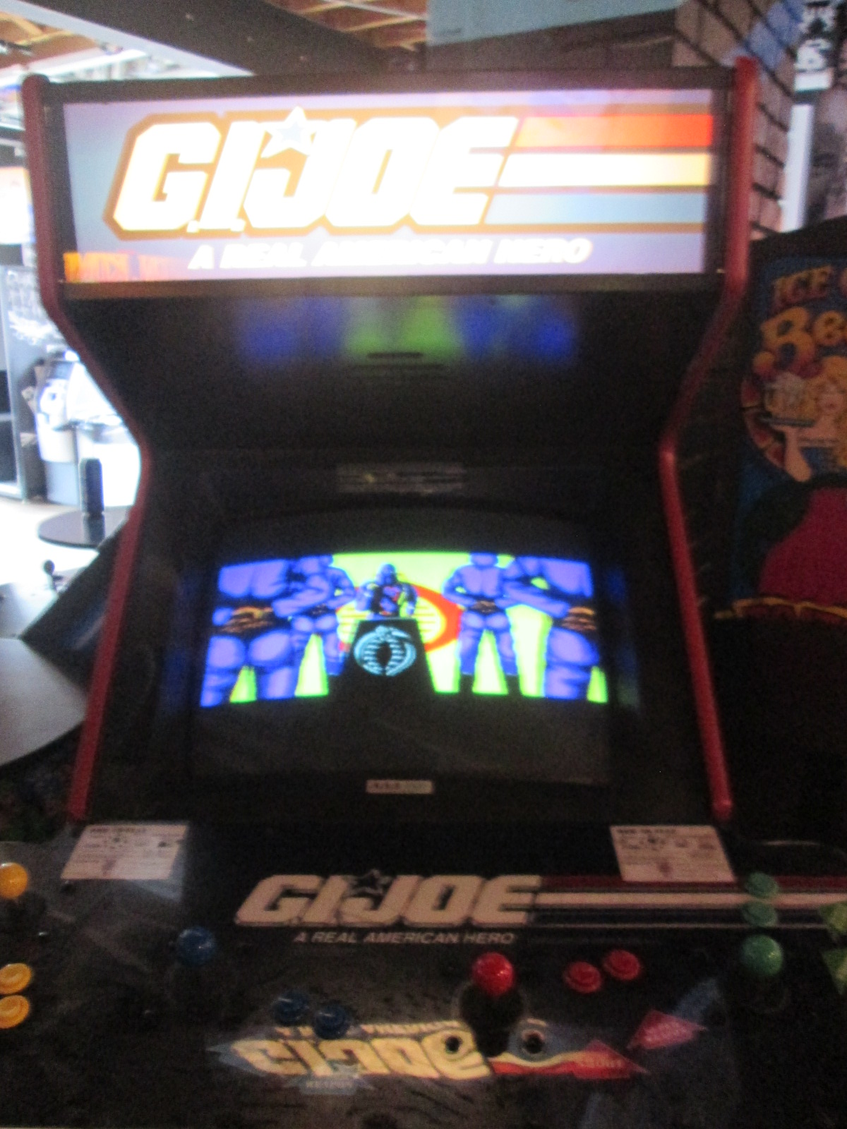 ed1475: G.I. Joe (Arcade) 185 points on 2016-09-04 15:46:54
