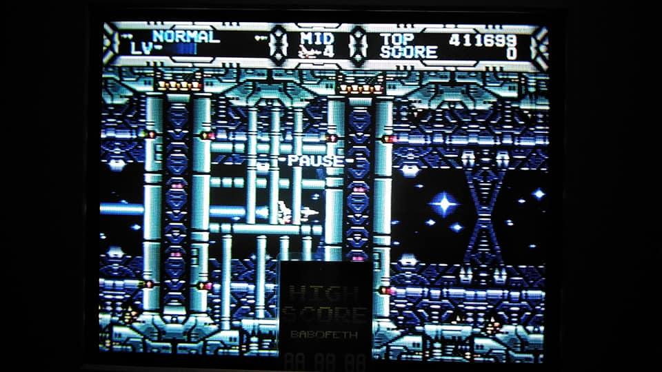 BabofetH: Gaiares (Sega Genesis / MegaDrive) 411,699 points on 2020-08-08 03:35:26