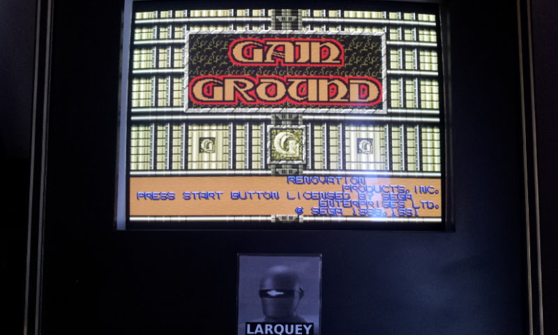 Larquey: Gain Ground (Sega Genesis / MegaDrive Emulated) 7,864 points on 2018-01-02 09:23:27