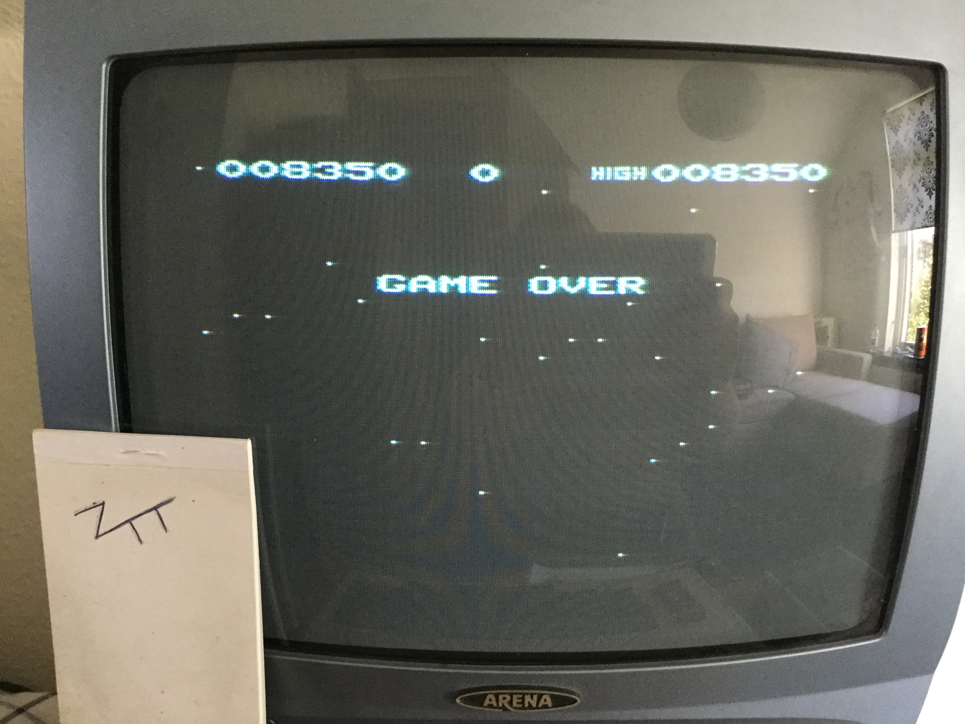 Frankie: Galactic Blitz (Commodore VIC-20) 8,350 points on 2018-10-19 03:57:38