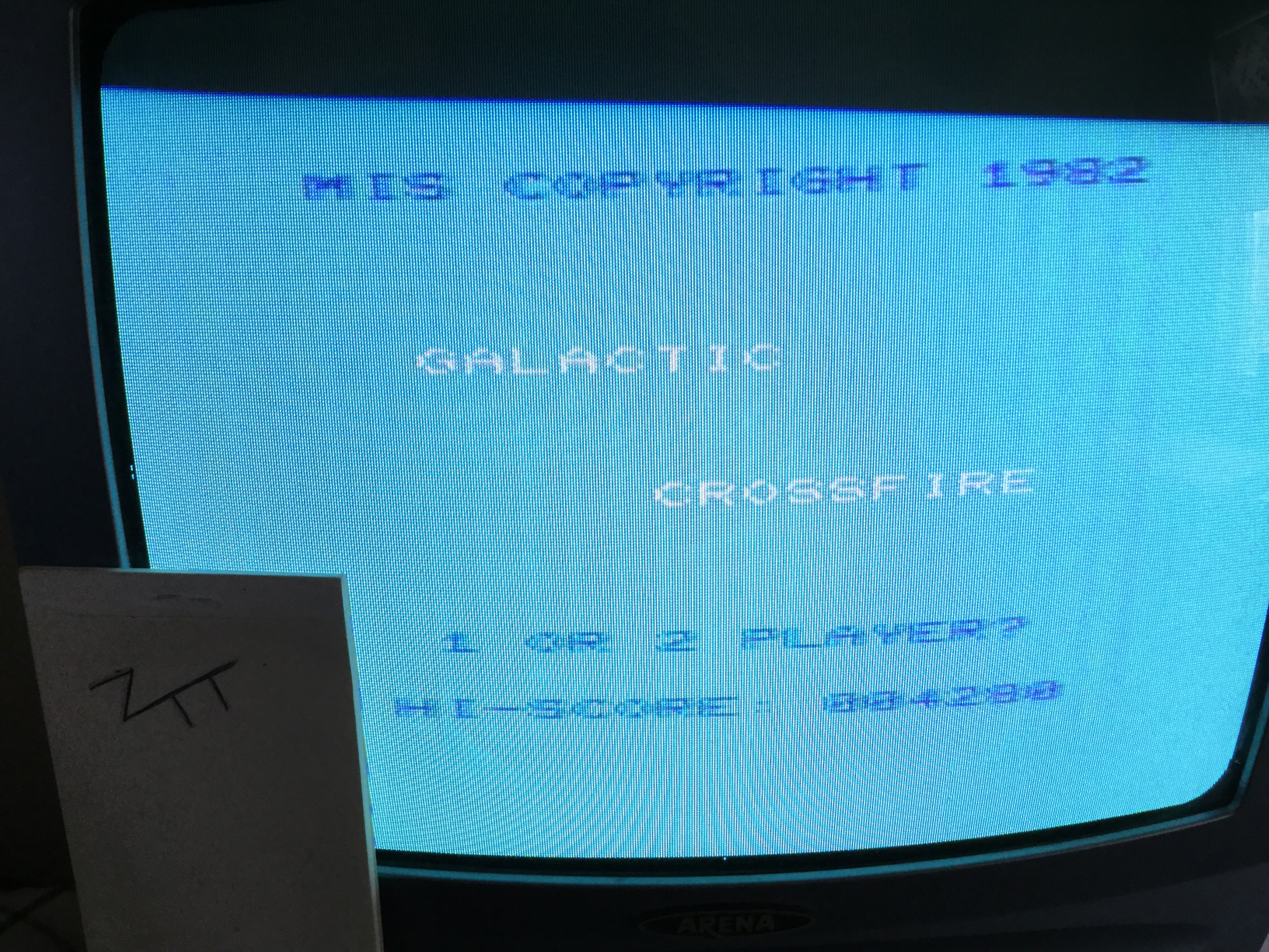 Frankie: Galactic Crossfire [Speed 1] (Commodore VIC-20) 4,280 points on 2018-10-19 04:25:06