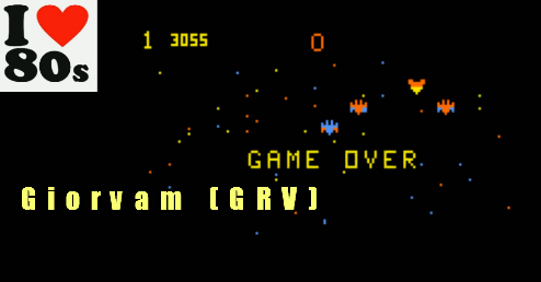 Giorvam: Galactic Invasion (Astrocade Emulated) 3,055 points on 2018-02-01 04:30:40