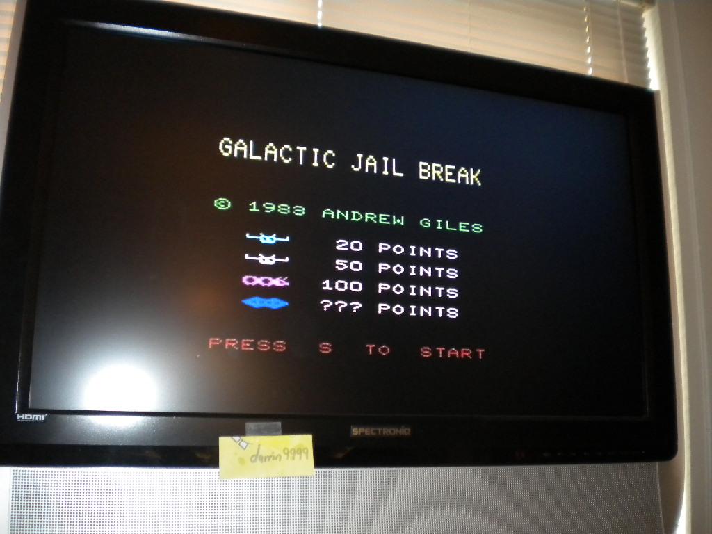 Galactic Jail Break 750 points