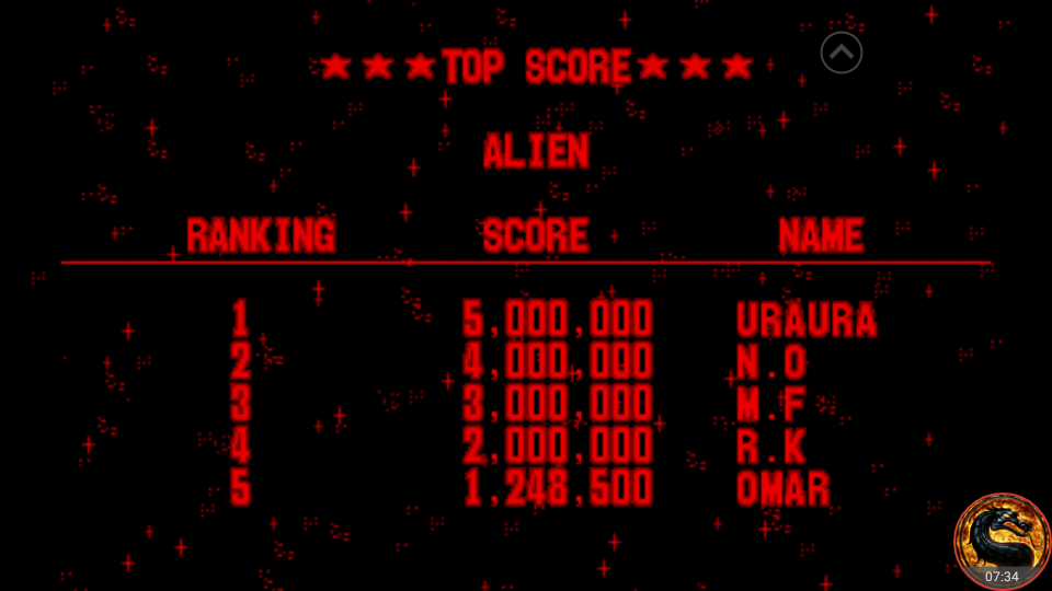 omargeddon: Galactic Pinball: Alien (Virtual Boy Emulated) 1,248,500 points on 2018-09-02 10:54:26