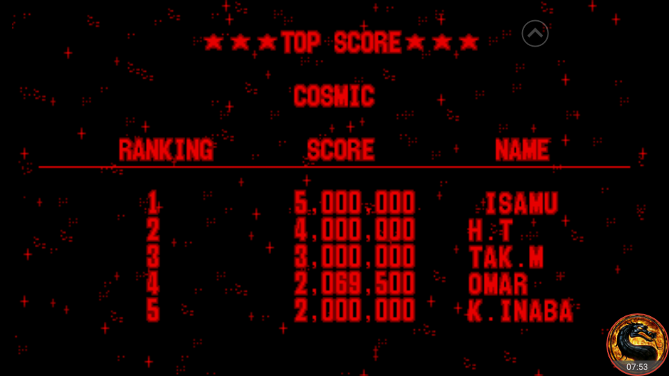 omargeddon: Galactic Pinball: Cosmic (Virtual Boy Emulated) 2,069,500 points on 2018-09-02 11:05:11