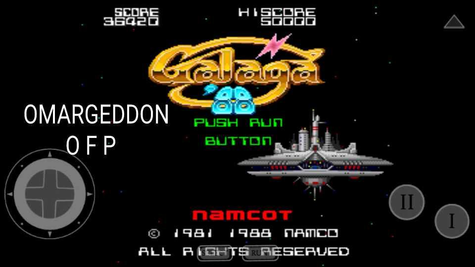 omargeddon: Galaga