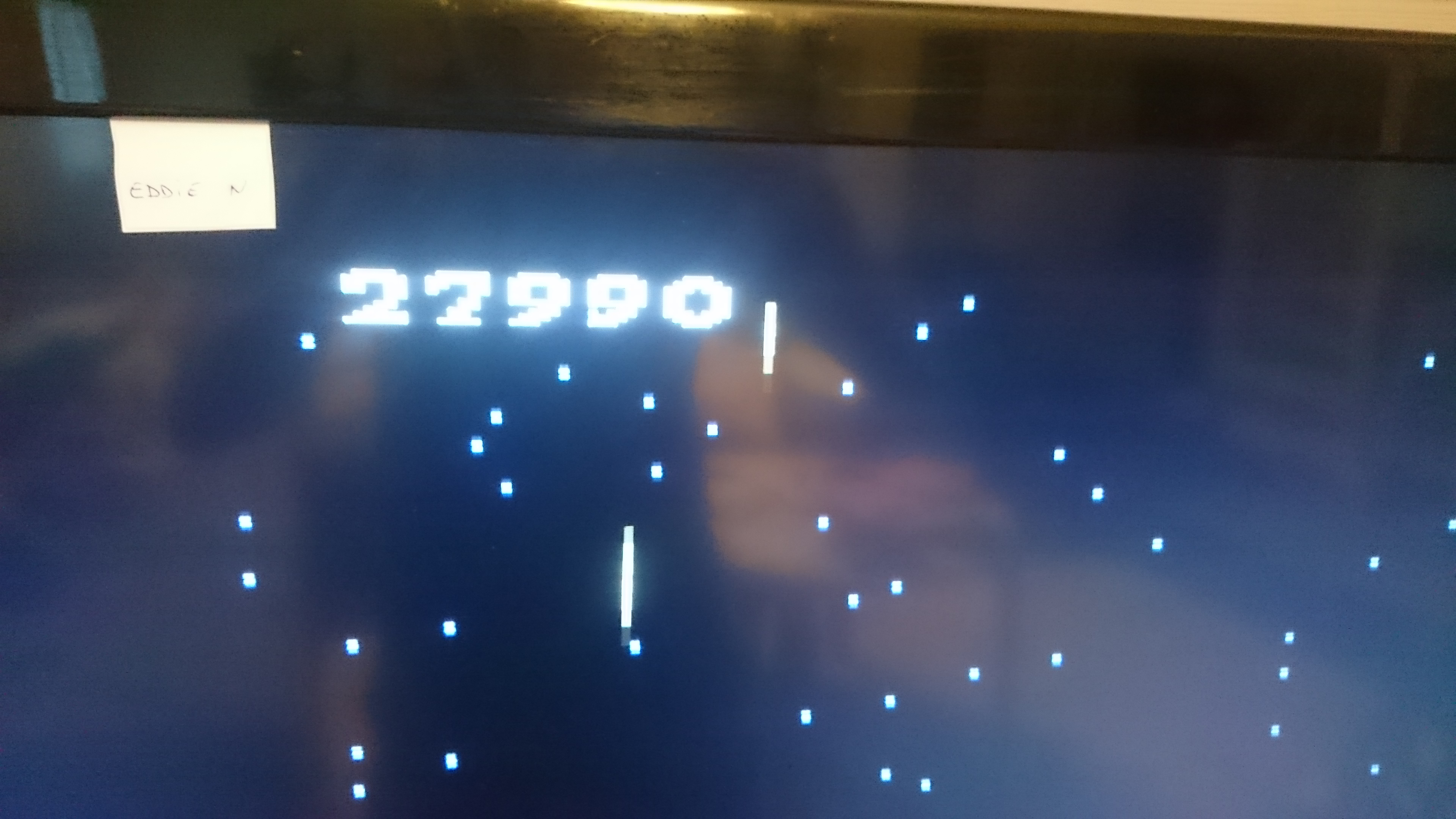 EddieNiceguy: Galaga: Advanced (Atari 7800 Emulated) 27,990 points on 2017-11-17 01:42:02