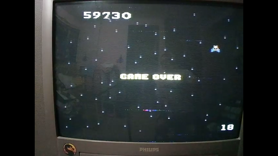 omargeddon: Galaga: Expert (Atari 7800) 59,730 points on 2020-09-20 00:50:43