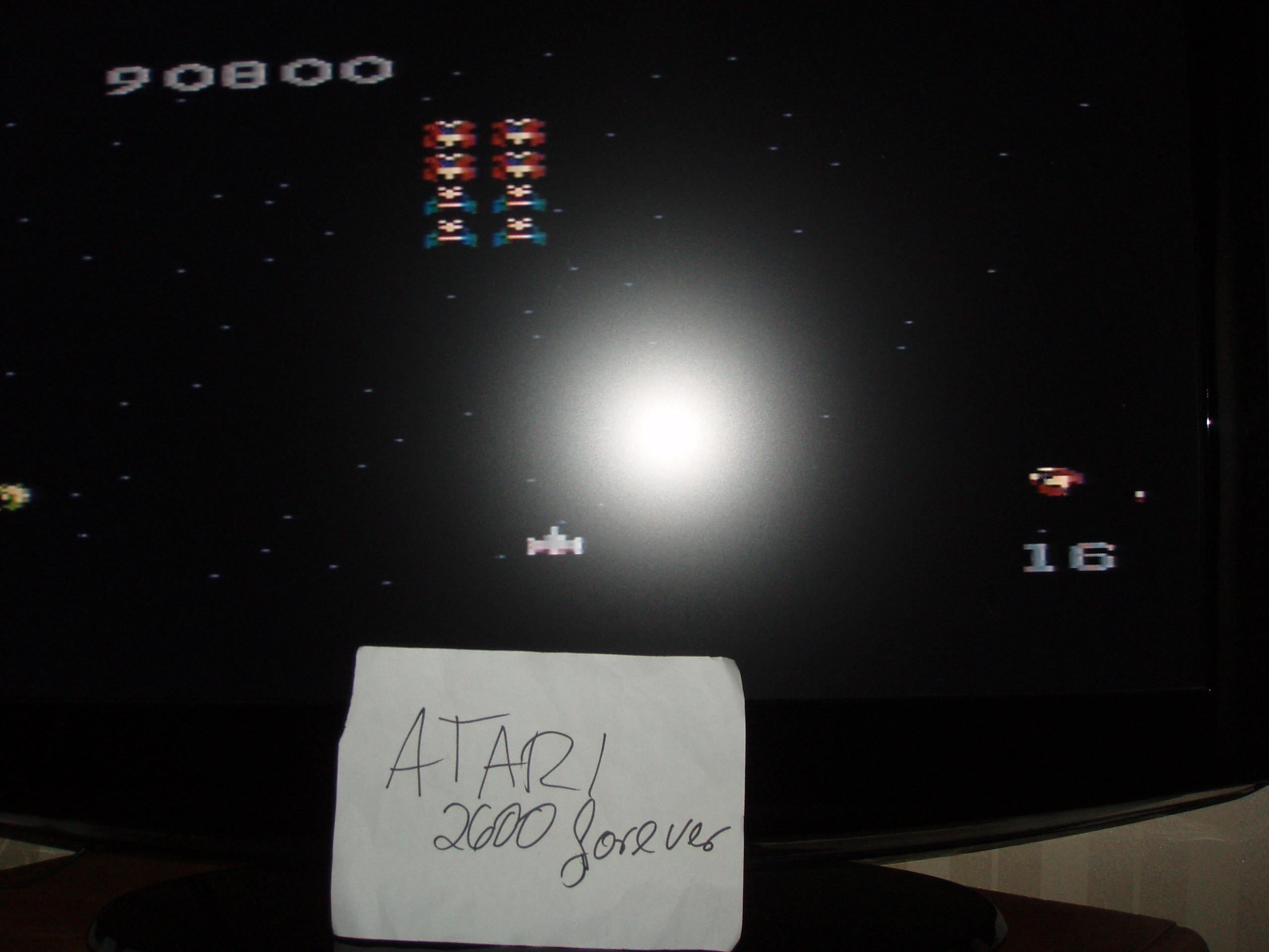 atari2600forever: Galaga: Expert (Atari 7800) 90,800 points on 2018-08-22 03:11:17