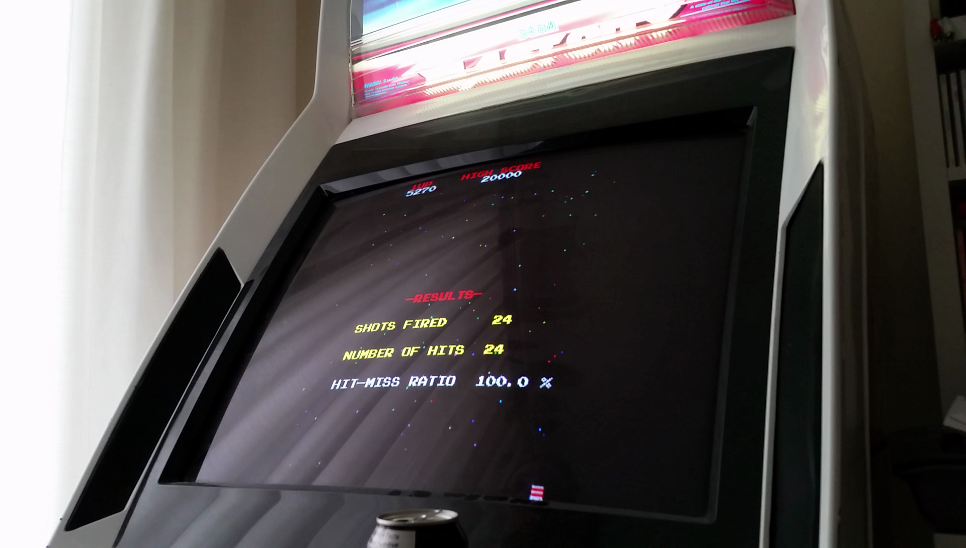 JES: Galaga [Final Score with 100% Hit/Miss Ratio] (Arcade Emulated / M.A.M.E.) 5,270 points on 2017-04-05 18:06:12