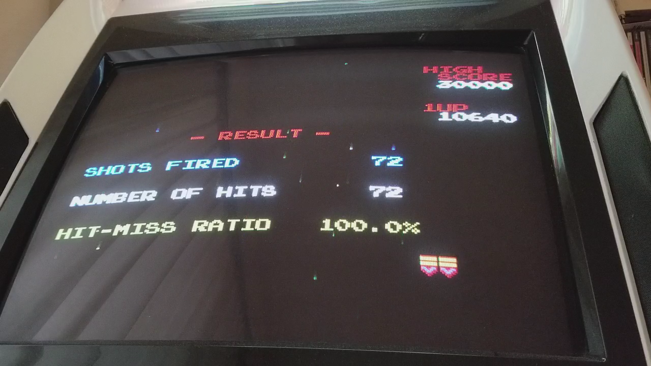 JES: Galaga [Final Score with 100% Hit/Miss Ratio] (NES/Famicom Emulated) 10,640 points on 2017-11-22 16:35:38