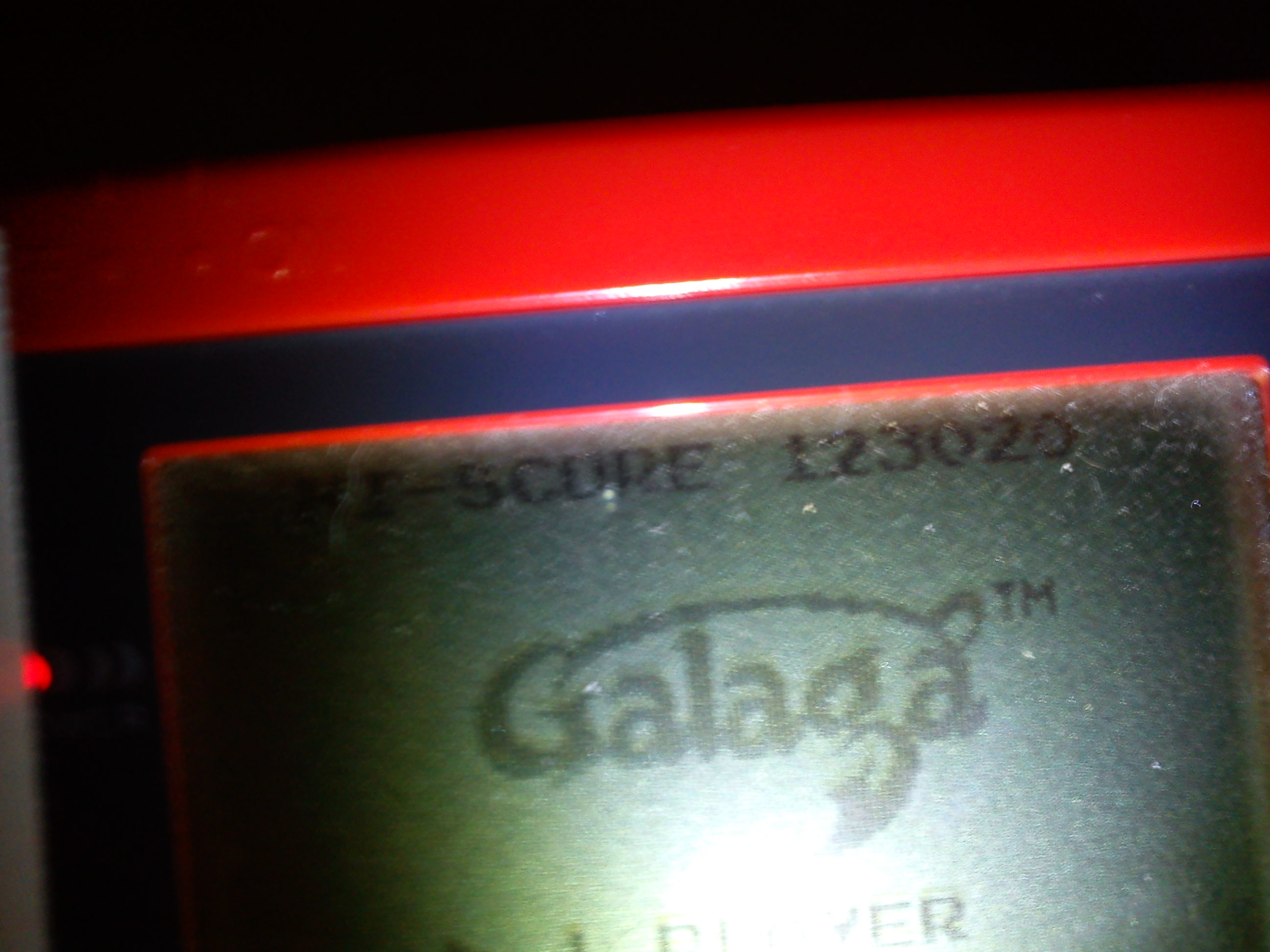 Galaga 123,020 points