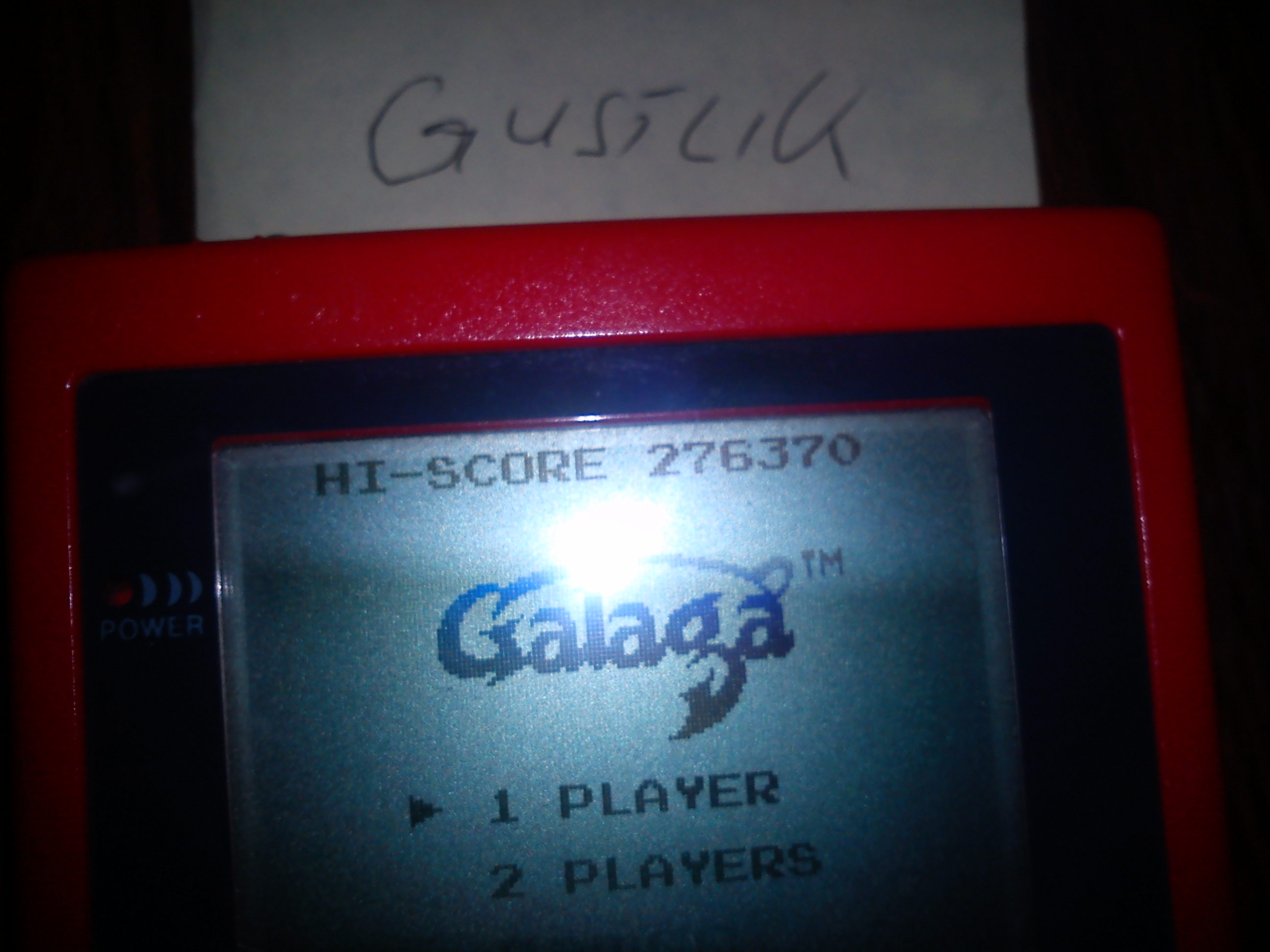Galaga 276,370 points