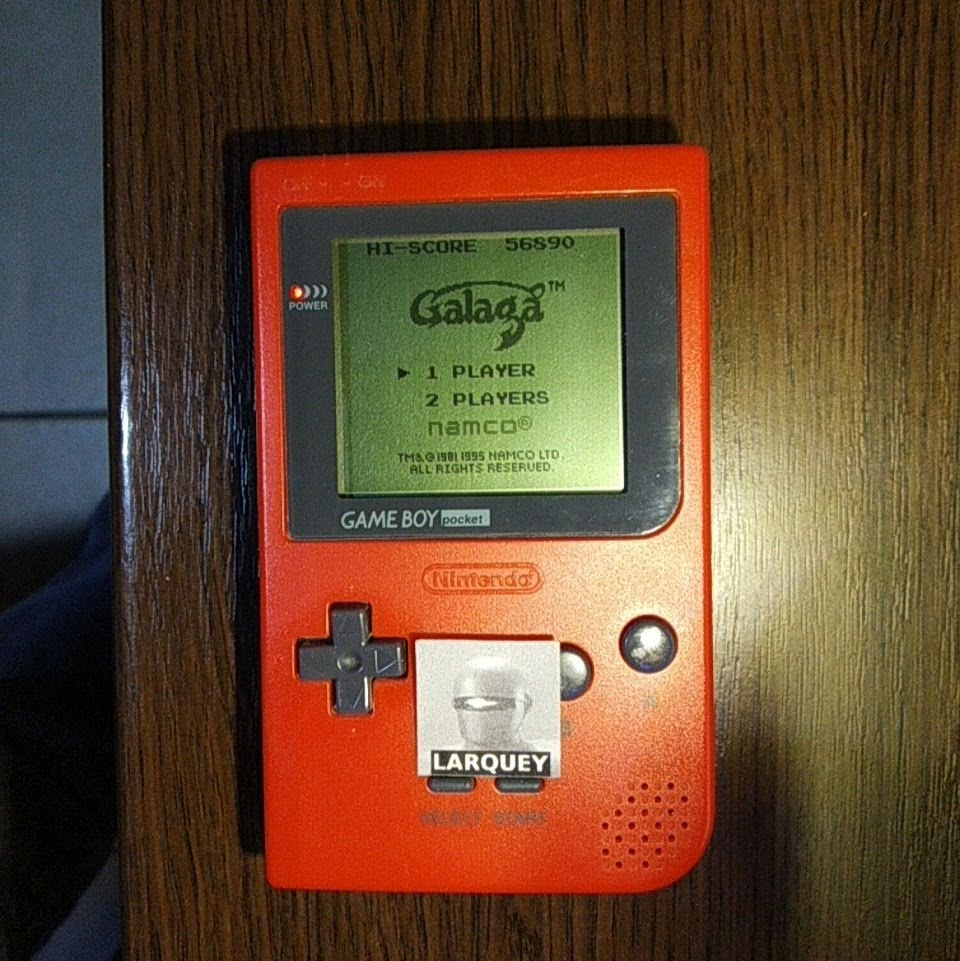 Larquey: Galaga (Game Boy) 56,890 points on 2020-04-11 12:32:48