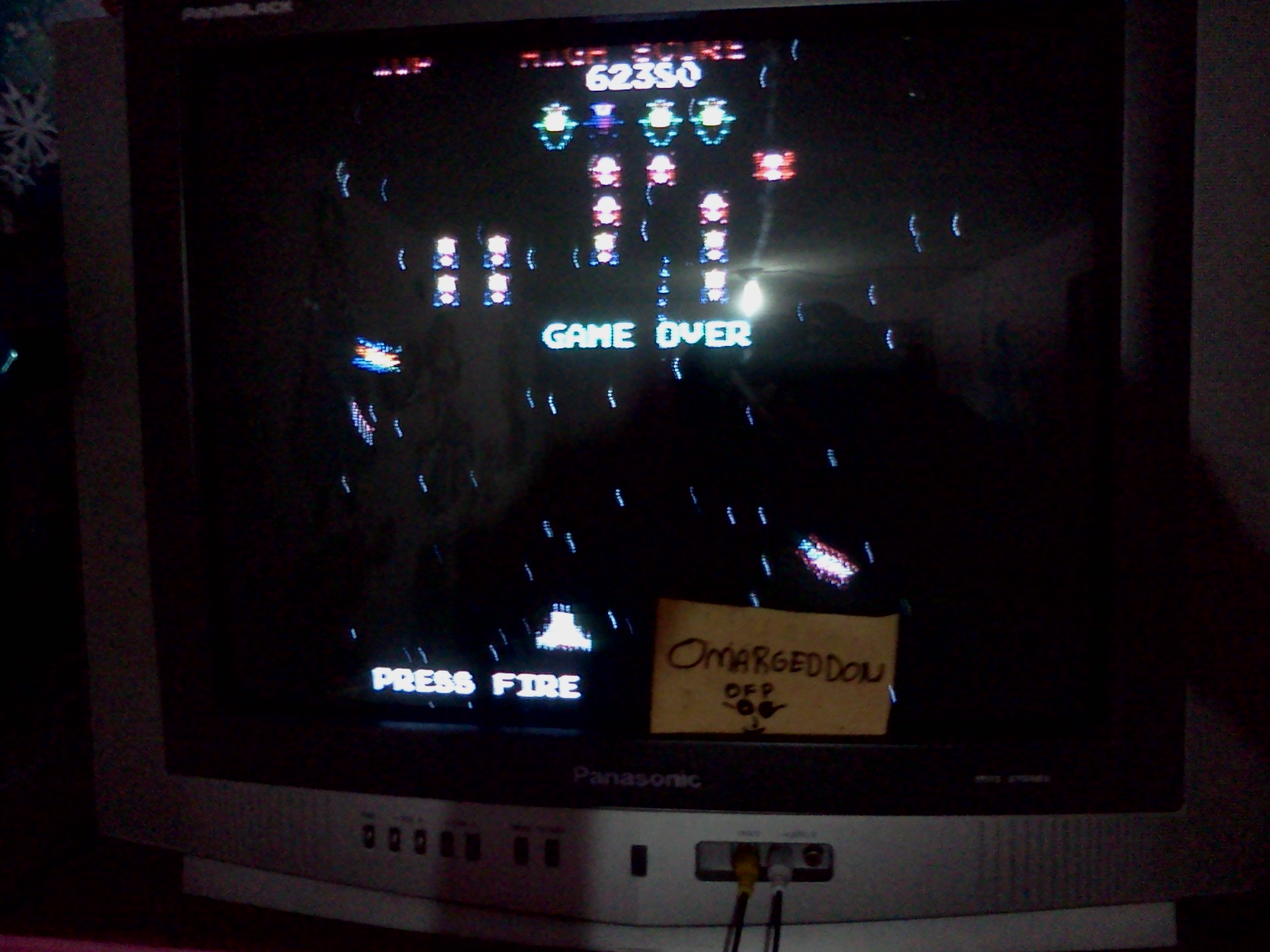 Galaga 62,380 points