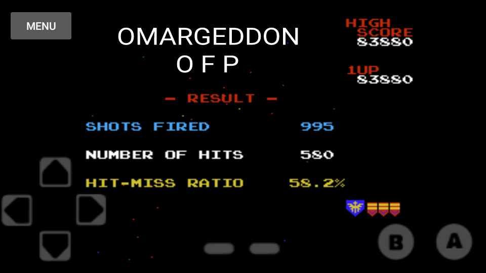 omargeddon: Galaga (NES/Famicom Emulated) 83,880 points on 2016-11-18 23:47:14