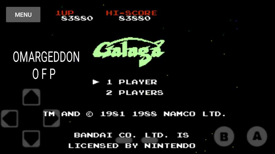 Galaga 83,880 points