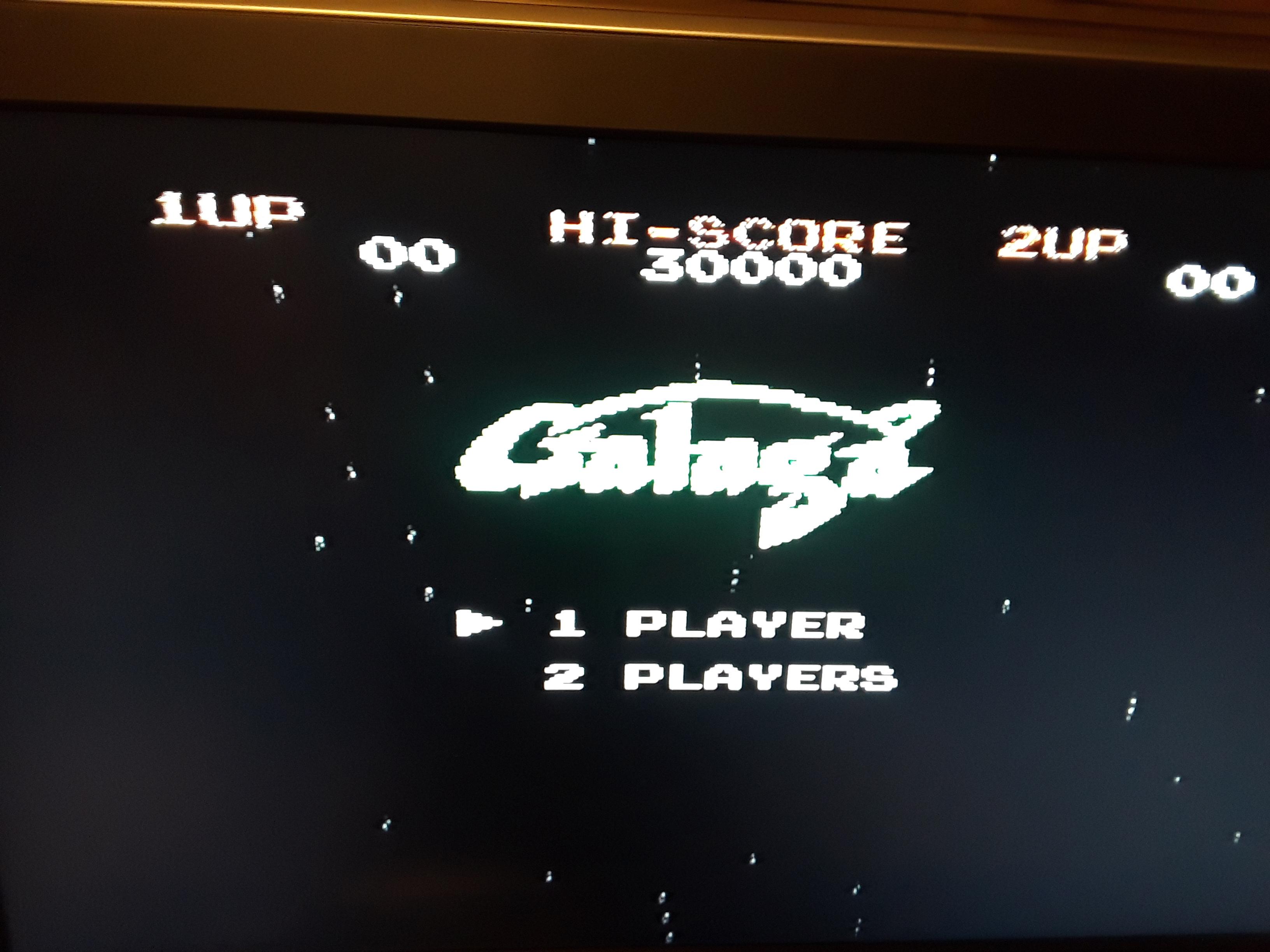 Galaga 22,450 points