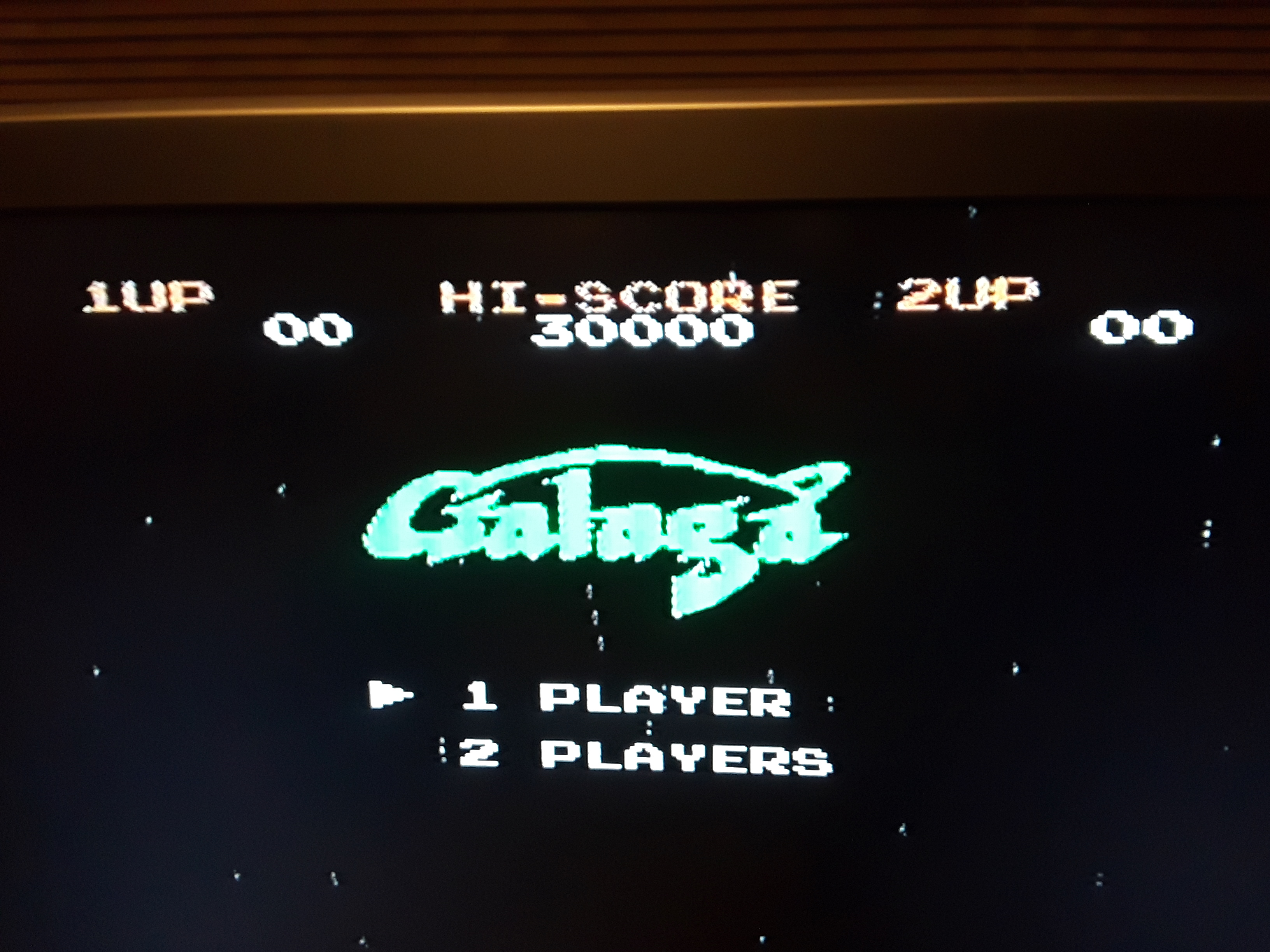 Galaga 51,390 points