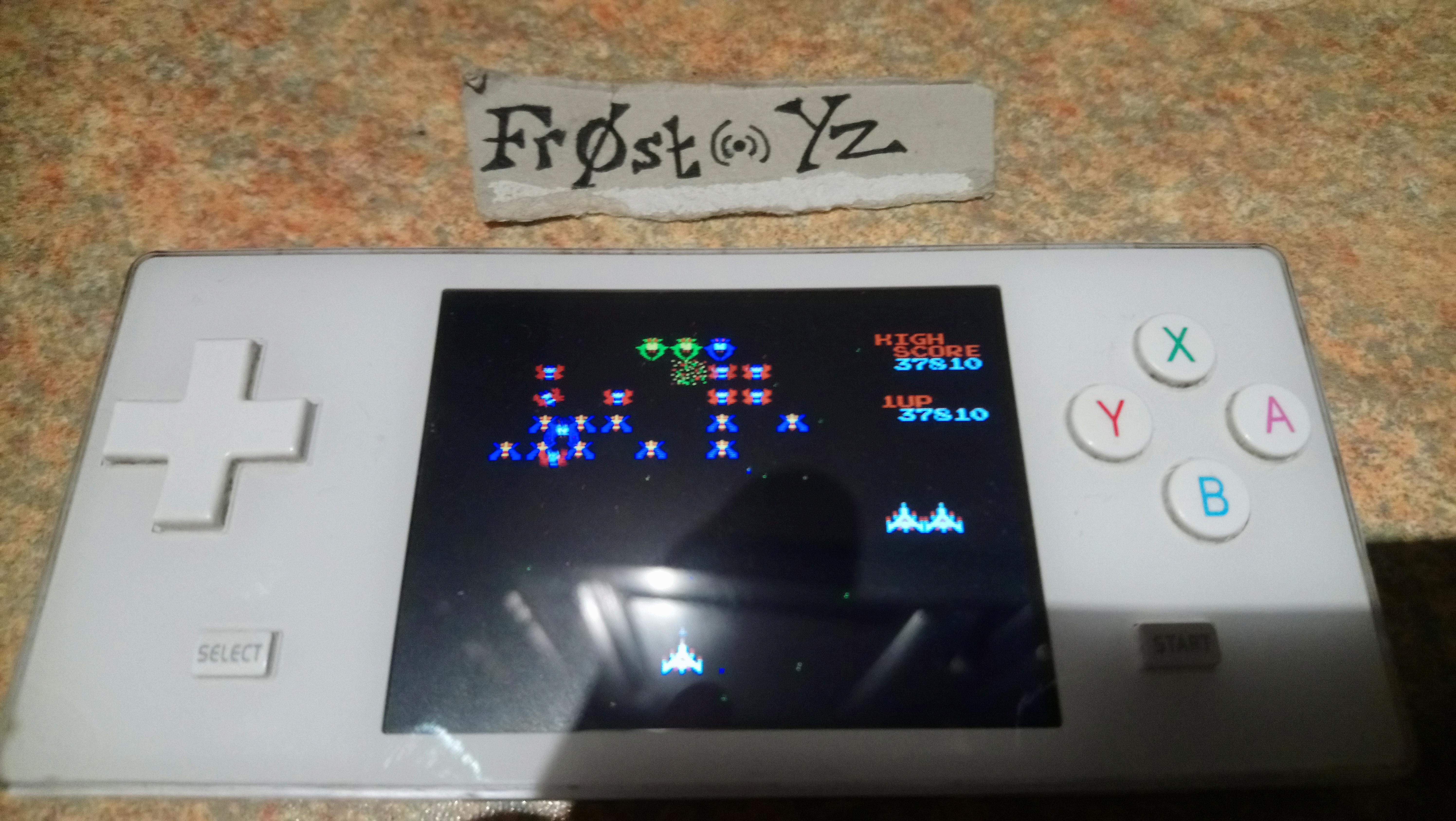 Fr0st: Galaga (NES/Famicom Emulated) 37,810 points on 2019-02-06 14:49:27