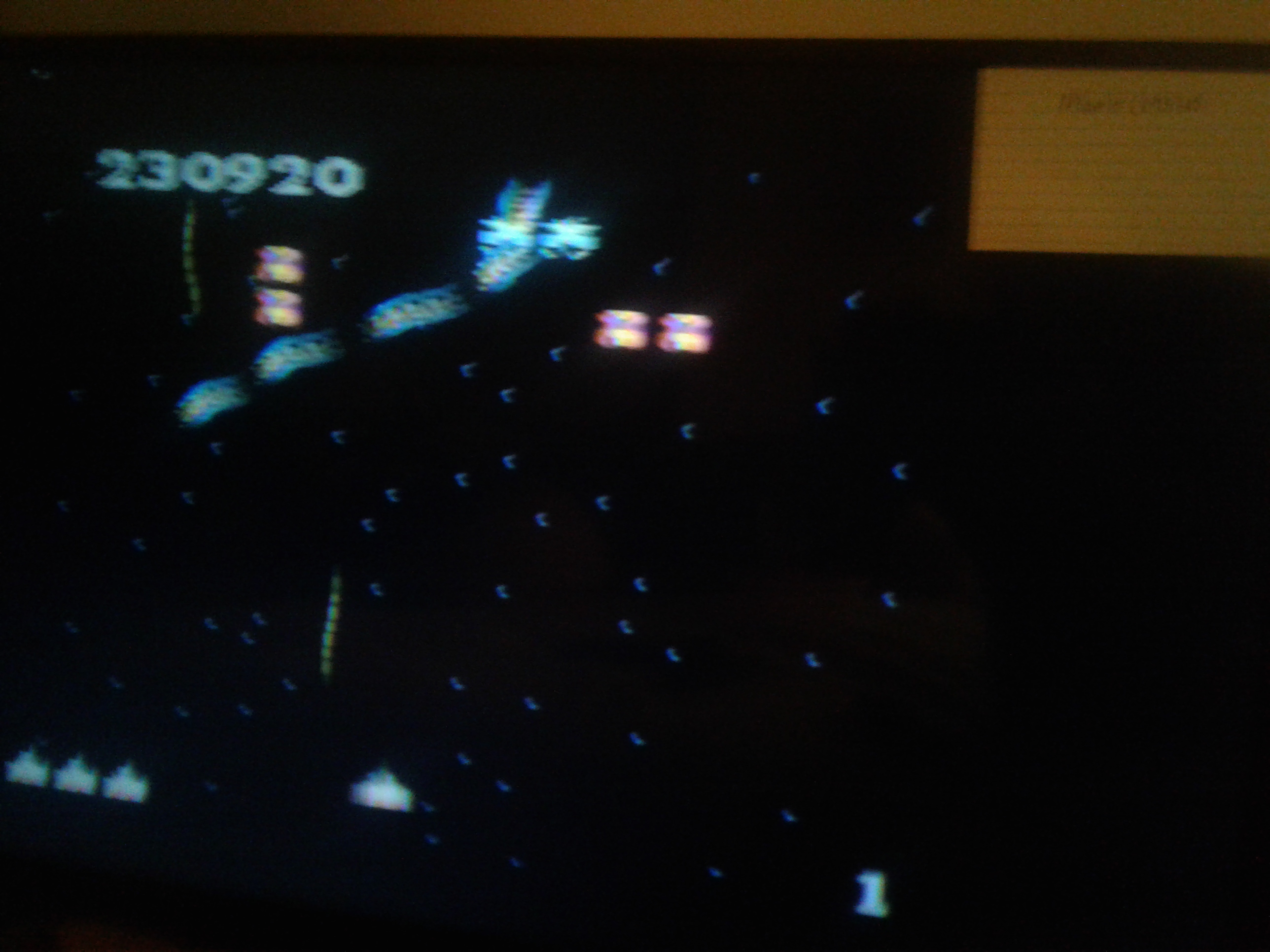 Mark: Galaga: Novice (Atari 7800) 230,920 points on 2019-02-02 22:00:42