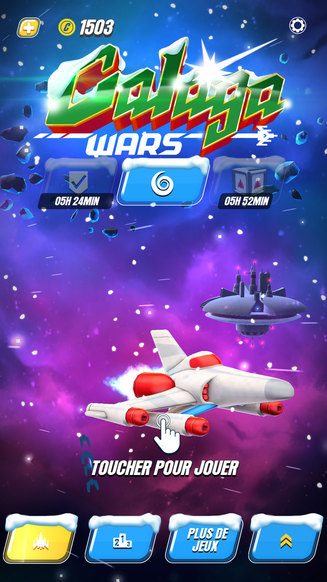 Mantalow: Galaga Wars [No Continue Allowed] (Android) 1,154,763 points on 2017-01-01 08:48:26