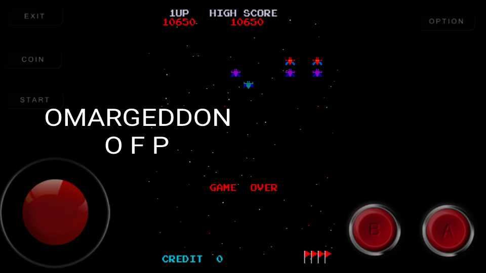 Galaxian 10,650 points