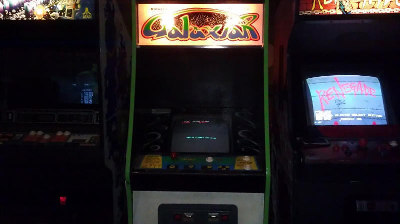 Galaxian 12,940 points