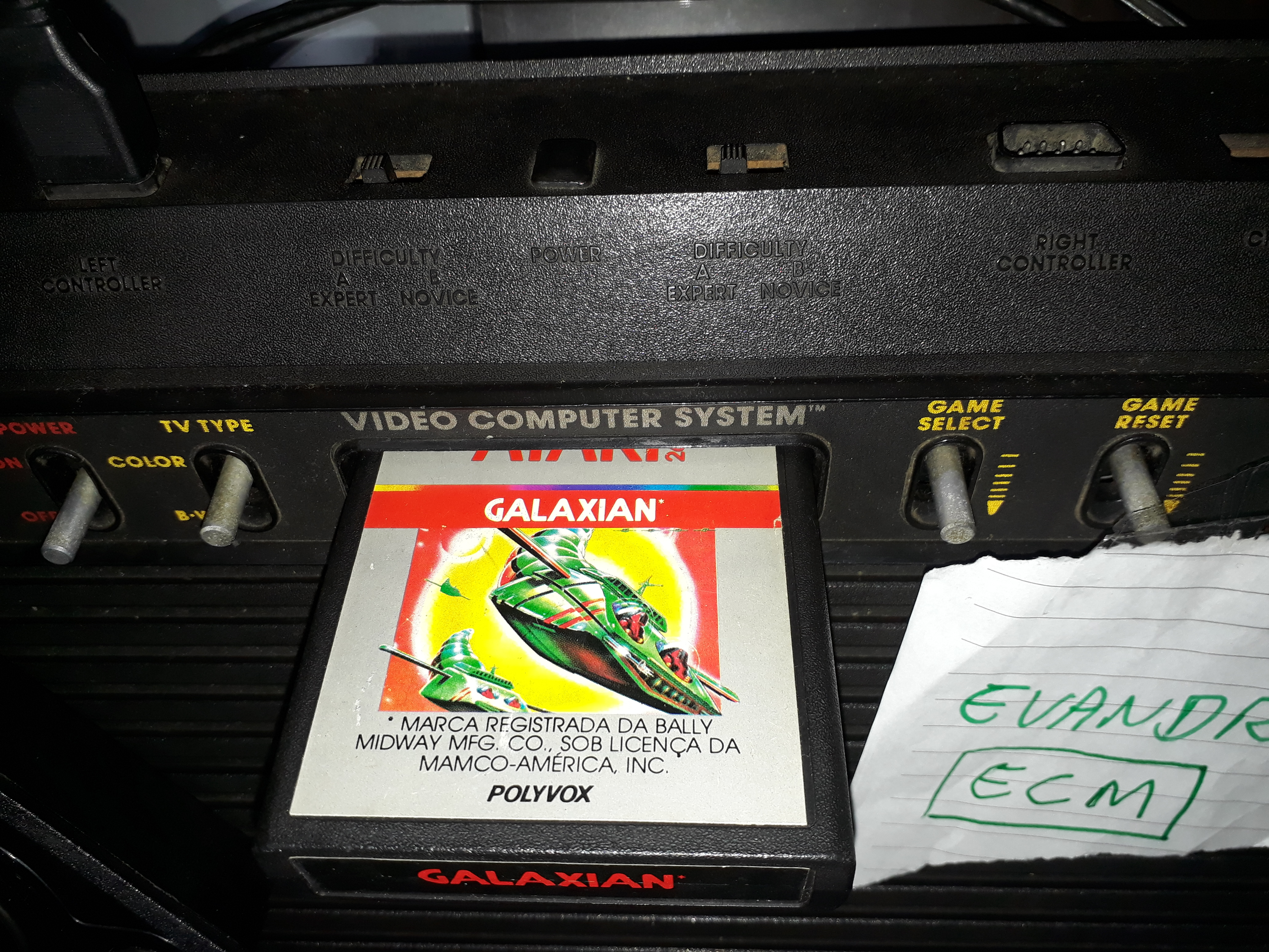 Evandro: Galaxian (Atari 2600 Expert/A) 68,230 points on 2018-11-01 20:01:31
