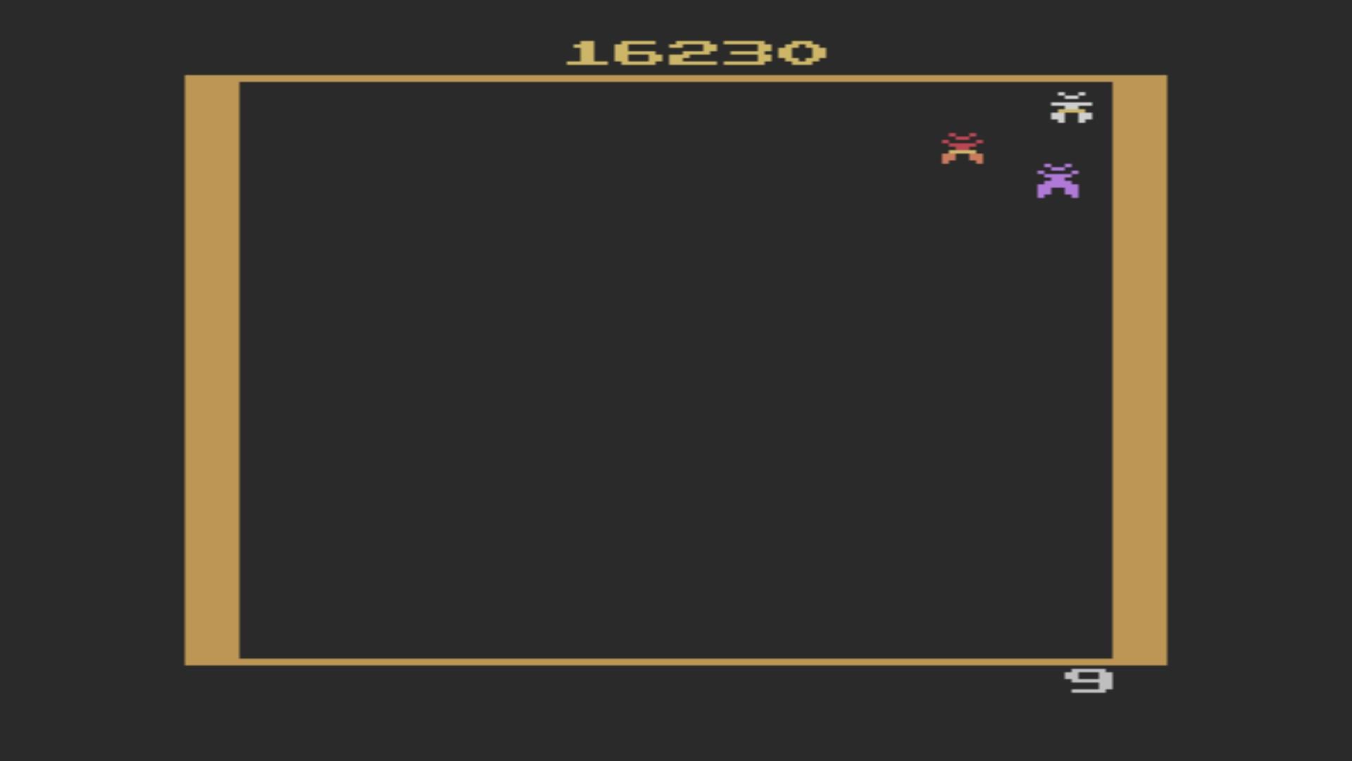 Galaxian 16,230 points