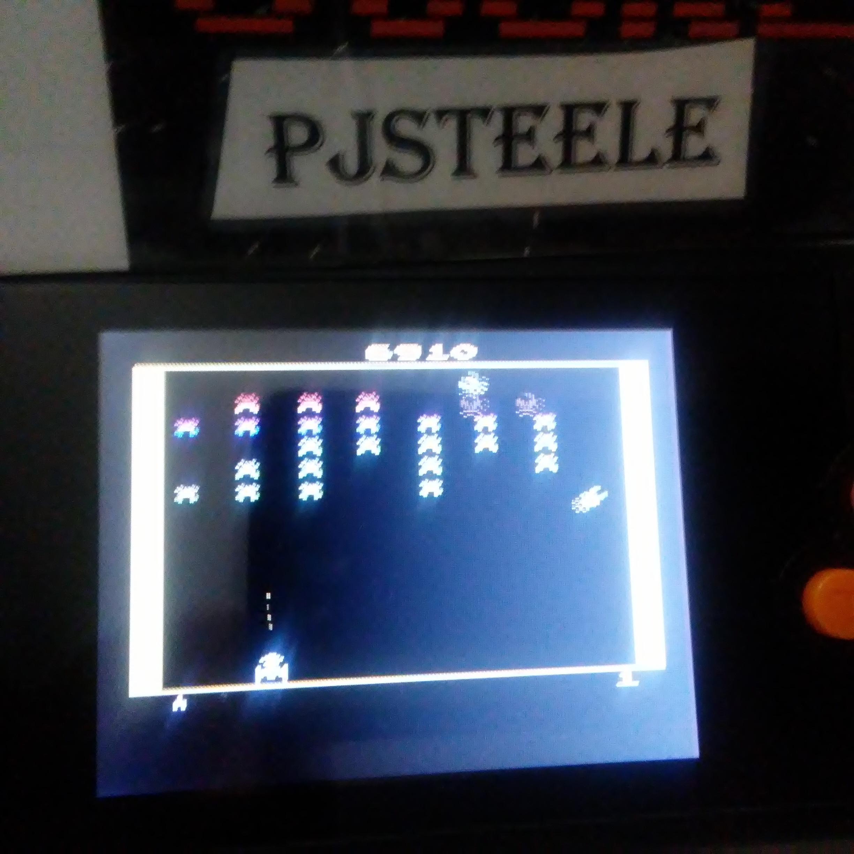 Pjsteele: Galaxian (Atari 2600 Emulated Novice/B Mode) 6,910 points on 2018-02-20 21:00:51