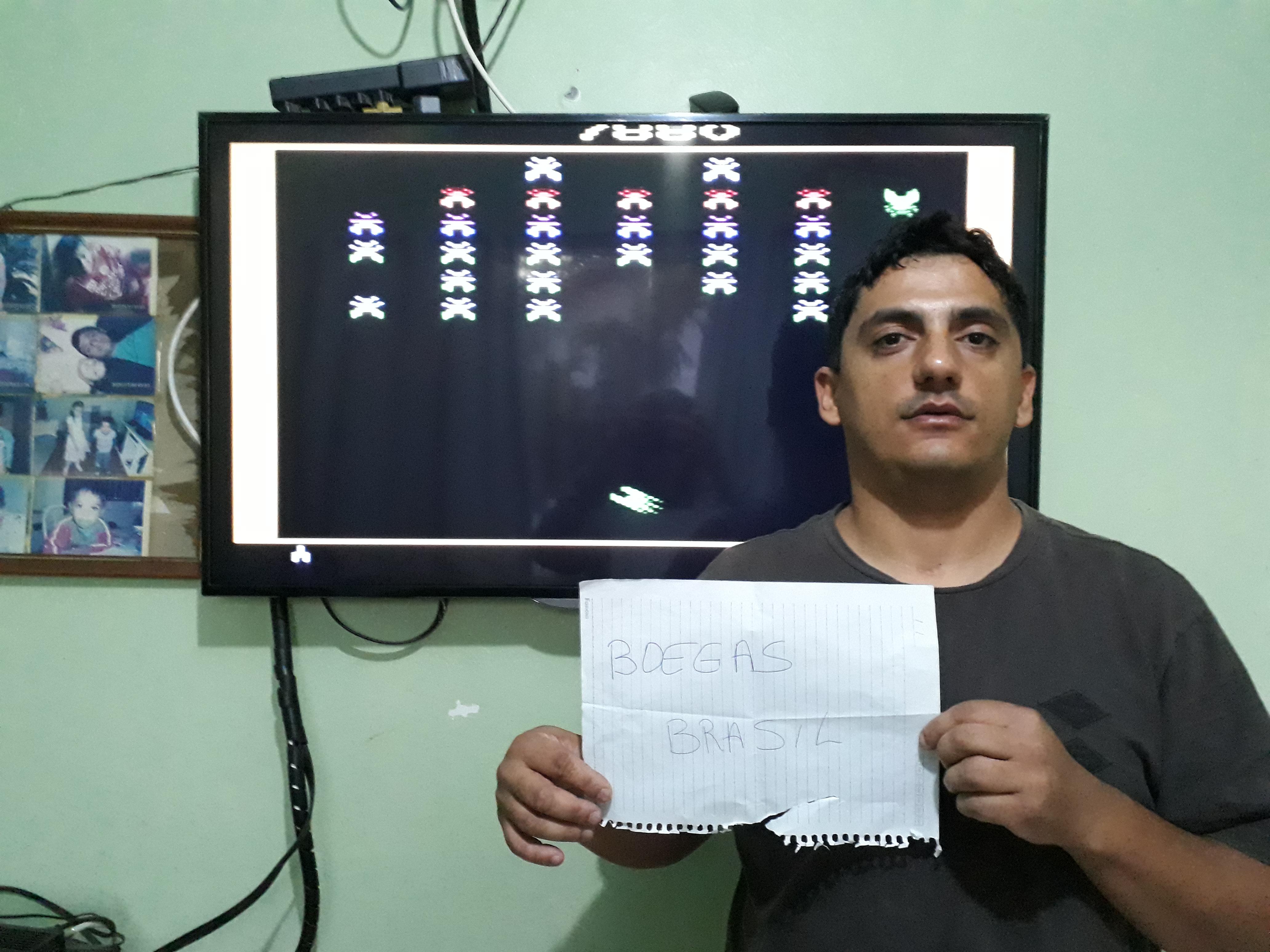Boegas: Galaxian (Atari 2600 Emulated Novice/B Mode) 7,880 points on 2018-12-08 16:12:02