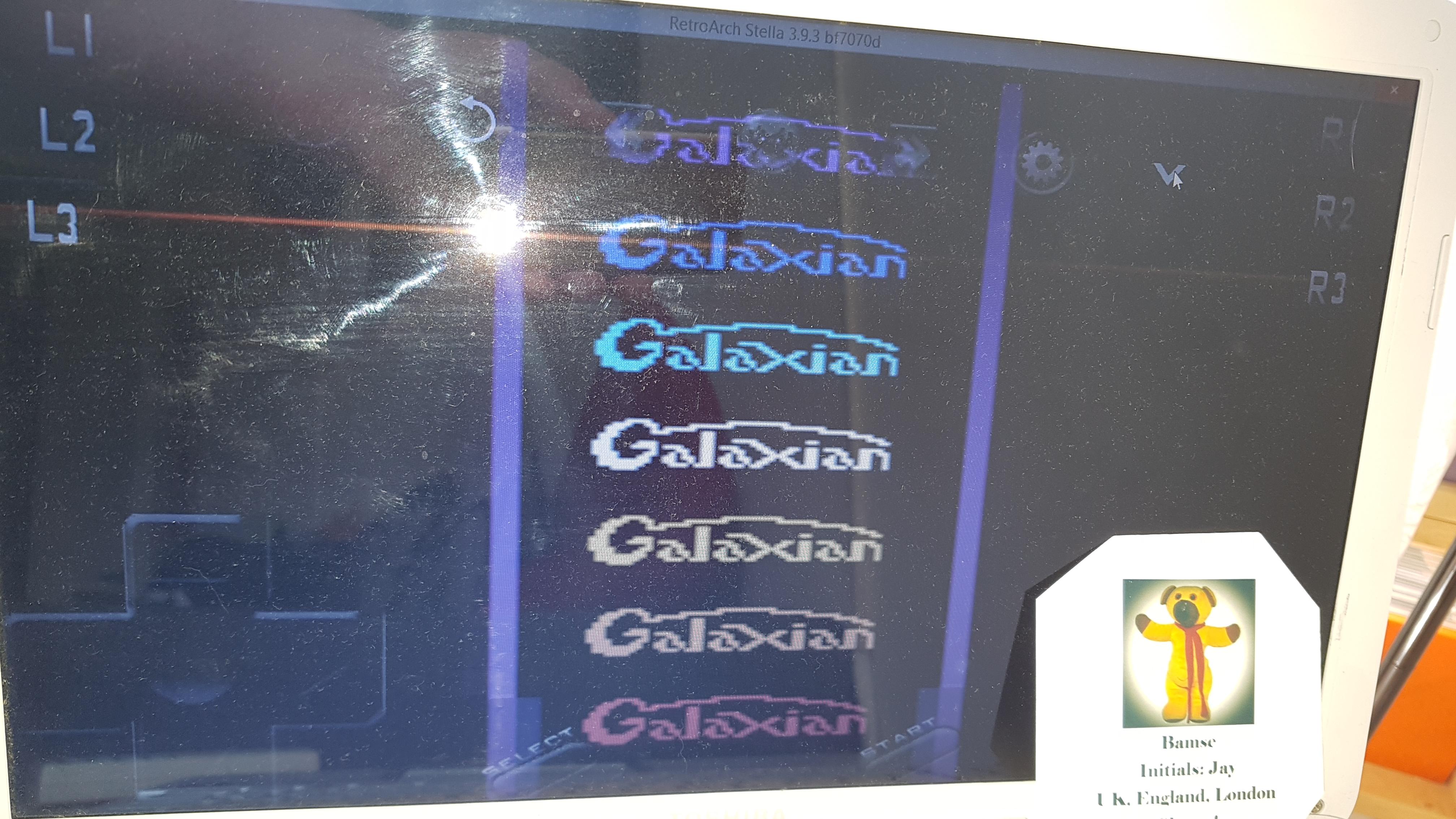 Galaxian 12,250 points