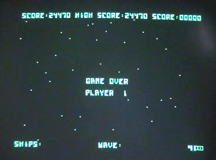 DonAtreides: Galaxian [Atarisoft] (Apple II) 24,470 points on 2016-01-01 16:42:29