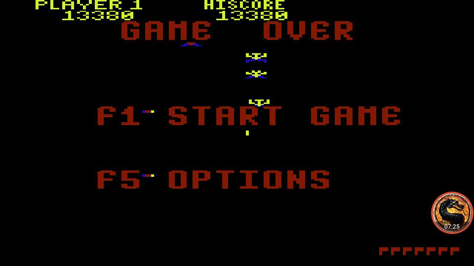 omargeddon: Galaxian (Commodore 64 Emulated) 13,380 points on 2019-08-27 16:23:53
