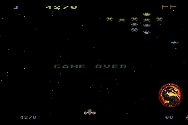 omargeddon: Galaxian [Difficulty: 3] (Atari 400/800/XL/XE) 4,270 points on 2019-12-18 15:19:45