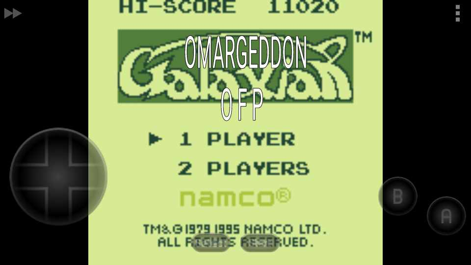 Galaxian 11,020 points