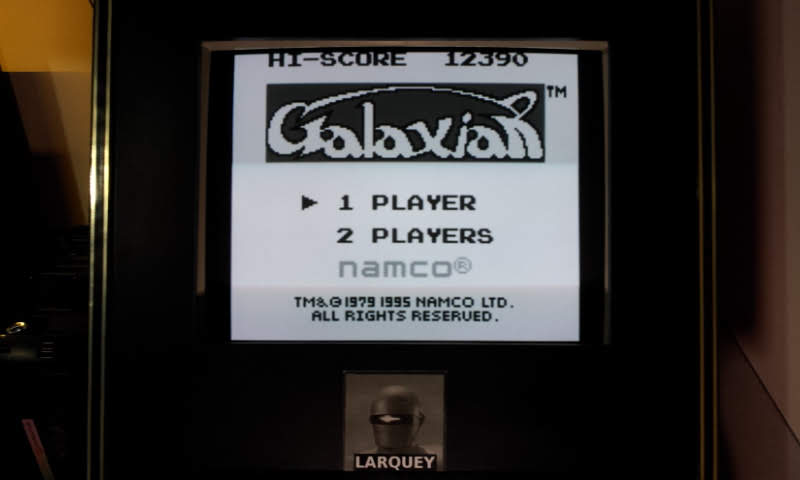 Galaxian 12,390 points